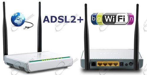 Ad alta velocit il modem adsl2 router wifi e wireless per adsl ed un router wireless per - Impianto wi fi per casa ...