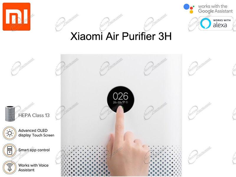 dettaglio display air purifier 3h