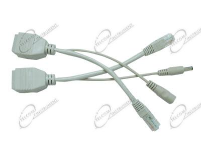 Schema Collegamento Ethernet : Per alimentare telecamere e cpe tramite cavo di rete ethernet È l