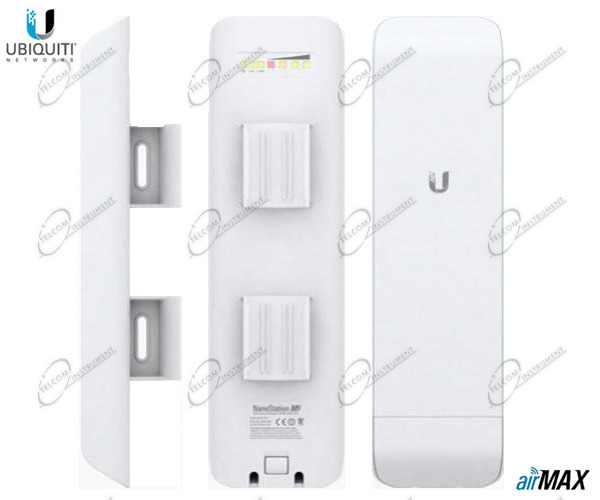 UBIQUITI NANOSTATION M2 ANTENNA PER CONNESSIONE INTERNET WIFI A DISTANZA: NANO M2 WIRELESS È DA ESTERNO