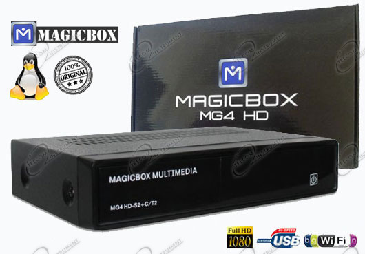 IL RICEVITORE MAGICBOX MG4 � BASATO SU LINUX ENIGMA2, ED � IL MAGIC BOX HD PER RICEVERE I CANALI TV TERRESTRI E SATELLITARI: IL DECODER MAGICBOX MG4 HA PRESA HDMI E CO�
