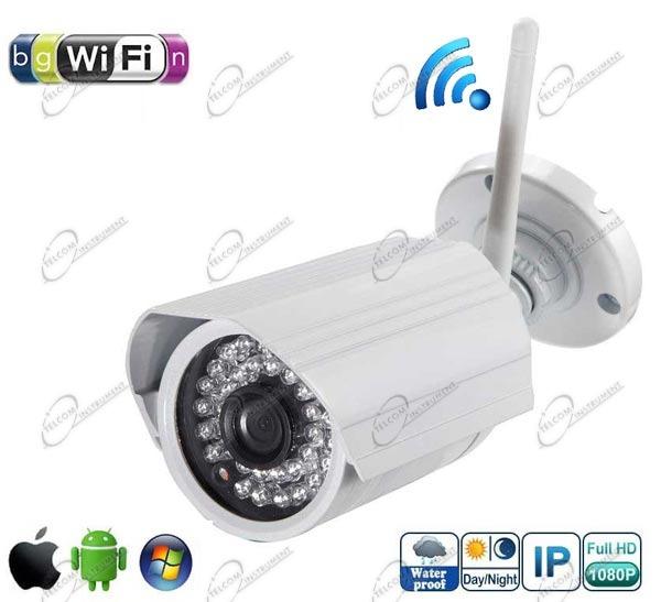 La telecamera ip wireless megapixel, con sensore hd e