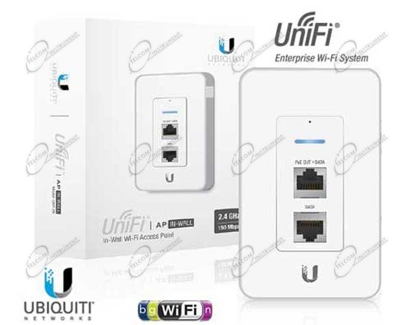 UNIFI UAP IN-WALL È ROUTER WI-FI PER SCATOLE 503 DA INCASSO: UNIFI UAP-IW È ACCESS POINT WIRELESS DA INTERNO UBIQUITI