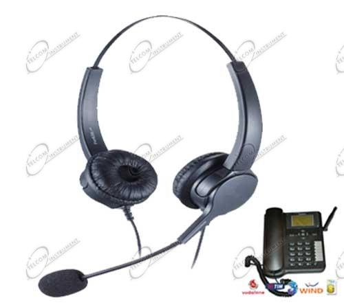 Cuffia con microfono specializzata per il telefono fisso da tavolo huawei gsm 3g per sim - Microfono da tavolo wireless ...