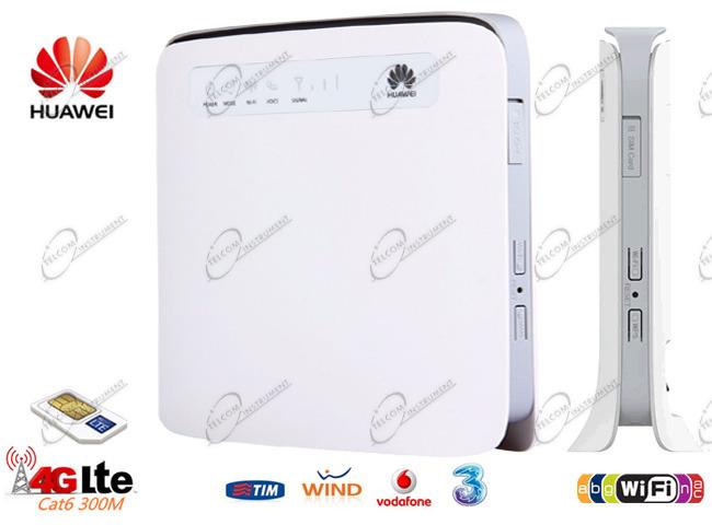 HUAWEI ROUTER 4G WIFI PER SIM 4G: HUAWEI E5186 È ROUTER WIRELESS AC PER  CONNESSIONE INTERNET 4G LTE ILIAD