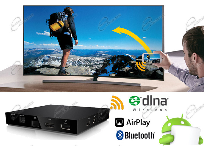 TV BOX ANDROID 4K È LETTORE MULTIMEDIA WIFI S905X PER IPTV E FILM ALTA DEFINIZIONE HDR; ANDROID TV BOX UHD È KODI E MKV