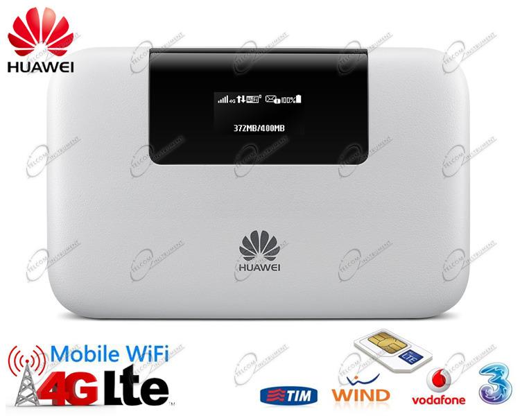 HUAWEI E5770 ROUTER 4G WIFI PORTATILE È CON PRESA DI RETE LAN  MODEM HUAWEI  E5770 MIFI LTE HA BATTERIA E POWERBANK. 5fc3ddbbfd74