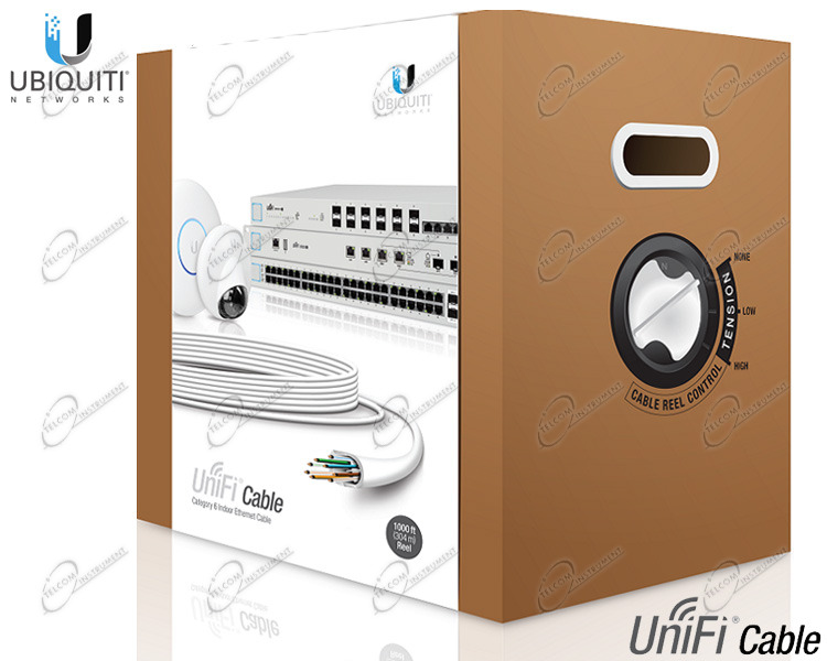 CAVO UBIQUTI CAT6 PER RETE LAN GIGABIT, È CAVO ETHERNET CATEGORIA 6 DA INTERNO DI ALTA QUALITÀ: È CAVO UNIFI CABLE