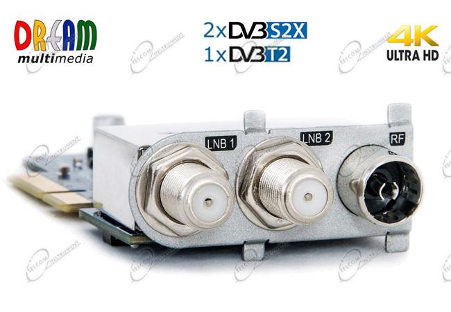 DECODER DREAMBOX DM920 4K CON TRIPLE TUNER S2X MULTISTREAM E LAN GIGABIT:  DREAM BOX DM920 UHD È PER IPTV