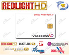 SCHEDA REDLIGHT ELITE PER 7 CANALI TV HARD: TESSERA RED-LIGHT STAR HD È FILM XXX VM 18 ANNI SOLO PER ADULTI, DALLA PARABOLA