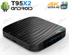 IPTV BOX ANDROID UHD WIFI È LETTORE MULTIMEDIALE 16GB PER VEDERE FILM 4K, IPTV E CANALI TV IN STREAMING