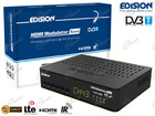 EDISION XTEND MODULATORE RF HDMI PER DISTRIBUIRE VIDEO SU CAVO ANTENNA TV TERRESTRE, CON RF LOOP E SPLITTER HDMI