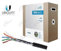 IL CAVO ETHERNET FTP CAT.5E ENHANCED UBIQUITI, È UN CAVO DI RETE PER INTERNO O ESTERNO DI ALTA QUALITÀ.