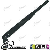 ANTENNA STILO OMNIDIREZIONALE CONNETTORE SMA, PER AUMENTARE SEGNALE WIRELESS DEL ROUTER WIFI