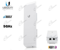 UBIQUITI NANOSTATION M5 PER CONNESSIONE INTERNET WIRELESS A DISTANZA: ROUTER NANO M5 È ANTENNA UBIQUITI