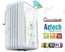 ESTENSORE WIFI POWERLINE PER RICEVERE A DISTANZA ADSL DAL ROUTER CON POWERLINE WIRELESS, PER AUMENTARE RAGGIO DEL ROUTER SERVE POWERLINE WIRELESS.