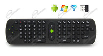 TASTIERA WIRELESS CON MOUSE E GIROSCOPIO PER GESTIRE ANDROID TV BOX: TASTIERA AIRMOUSE E TELECOMANDO