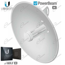 NUOVA UBIQUITI POWERBEAM 5AC-400 UBNT, È UNA POWER BEAM M5 PER CREARE DORSALI HIPERLAN A 450MBPS.