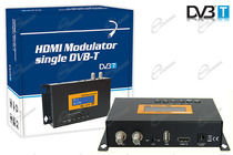 MODULATORE VIDEO RF PER DIGITALE TERRESTRE DVB-T, INGRESSO HDMI, PER IMPIANTO ANTENNA TV