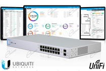 MANAGED POE È UNIFI SWITCH X16, CON PRESE SFP E 16 PORTE LAN GIGABIT: SWITCH È UNIFI CONTROLLER CON POE 150W