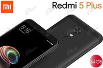XIAOMI REDMI 5+ DUAL SIM CON MEMORIA 64GB È REDMI 5 PLUS NERO VERSIONE GLOBAL, SUPPORTA 4G LTE BANDA 20 E CAMERA 12MPX