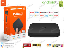 XIAOMI MULTIMEDIA PLAYER MI BOX 4K CON GOOGLE ASSISTANT: XIAOMI ANDROID TV BOX WIFI PER NETFLIX DAZN PRIMEVIDEO