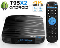 ANDROID TV BOX MULTIMEDIALE 4K UHD CON PROCESSORE S905X2 PER VEDERE: FILM 4K, IPTV E CANALI IN STREAMING