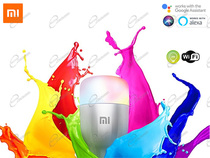 XIAOMI LAMPADINA RGB MODELLO MI SMART LED BULB COMPATIBILE WFI CON AMAZON ALEXA HOMEKIT E GOOGLE